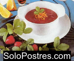 Salsa de frutillas