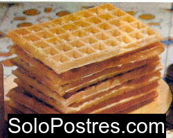Masa b�sica de waffles dulces