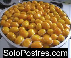 Dulce de quinotos o quinotos en alm�bar