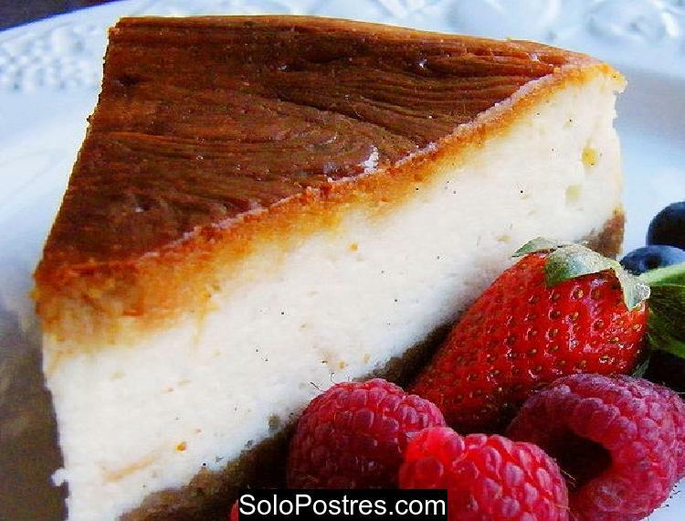 Cheesecake de vainilla