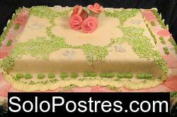 Torta de cumplea�os para quincea�eras