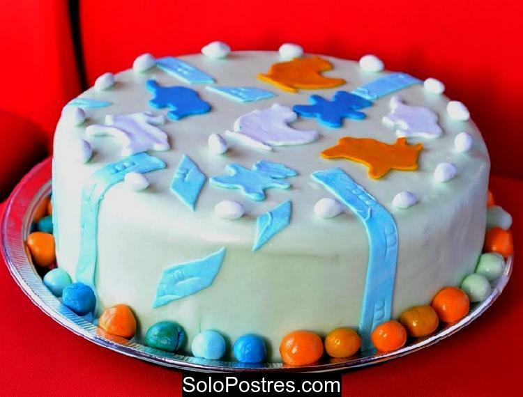 Torta de cumpleaños infantil