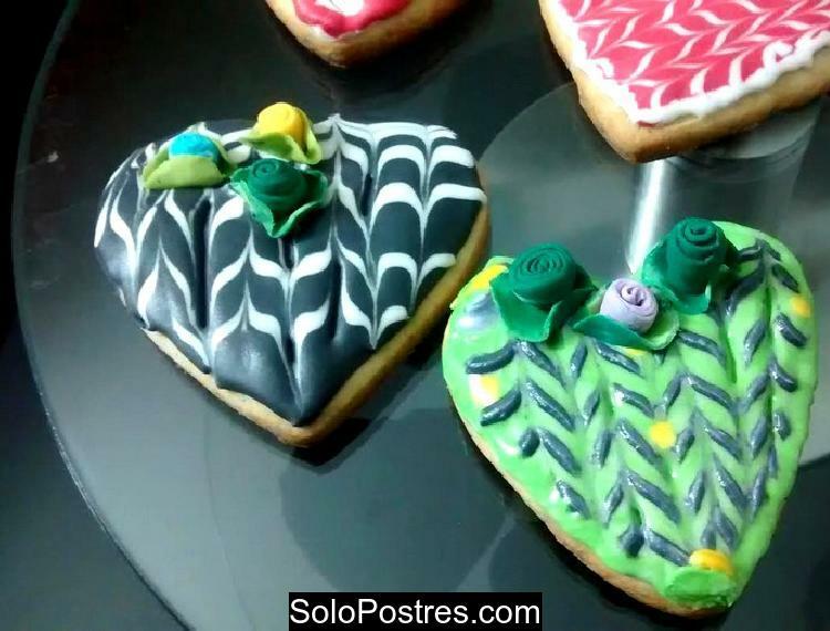 Galletitas, galletas dulces con decoraciones novedosas