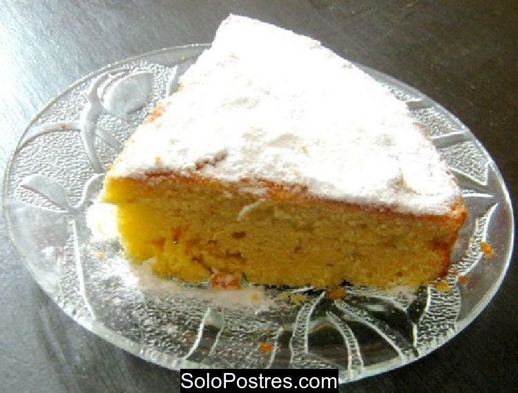 Torta de naranja y calabaza para diabéticos y light