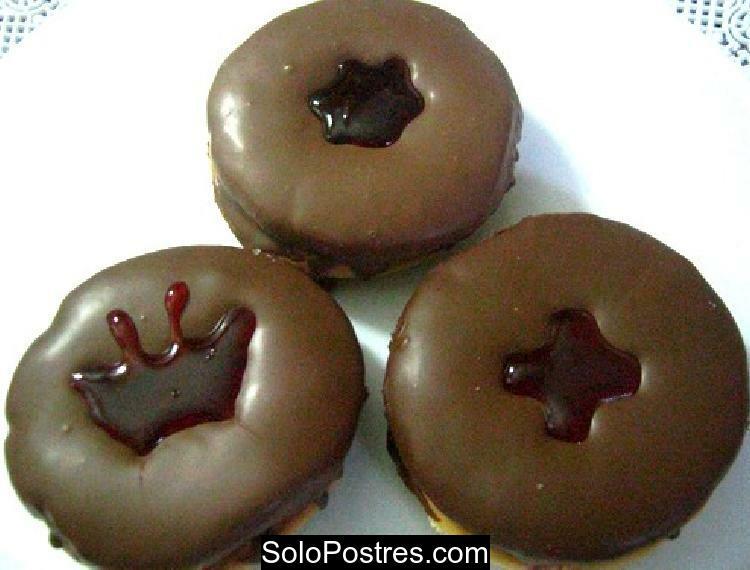 Espejitos bañados de chocolate negro