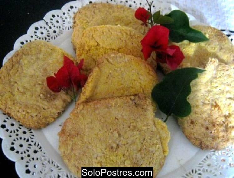 Galletitas bien fáciles y rápidas de harina de maíz y limón