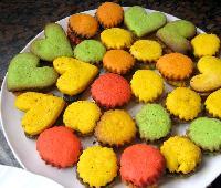 galletitas de colores