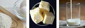ingredientes receta gofres