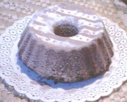 Torta de chocolate realizada por una niña de cinco años y medio
