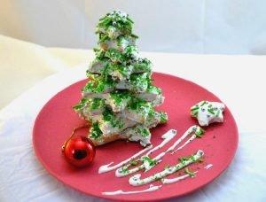pino de navidad galletas
