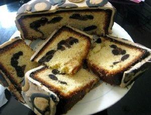 Torta animal print o tiger cake