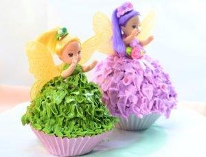 Cupcakes hada Campanita