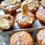 Muffins vegano de banana y coco sin huevos, sin leche…
