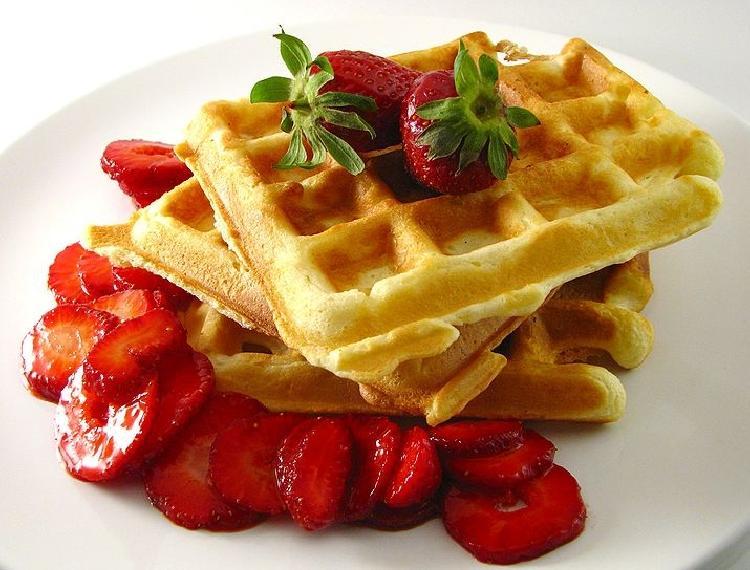 Receta de waffles