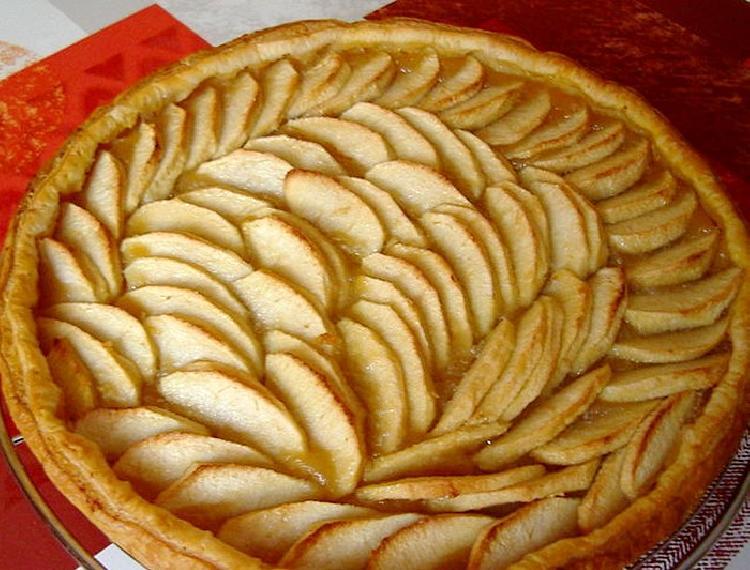 torta crocante de manzana
