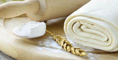 receta de masa de hojaldre