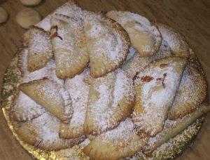 Empanadas pequeñas de manzanas