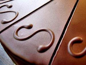 Preparación especial de dulce de leche y chocolate