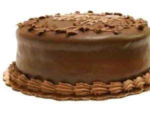 Torta Sacher (chocolate)