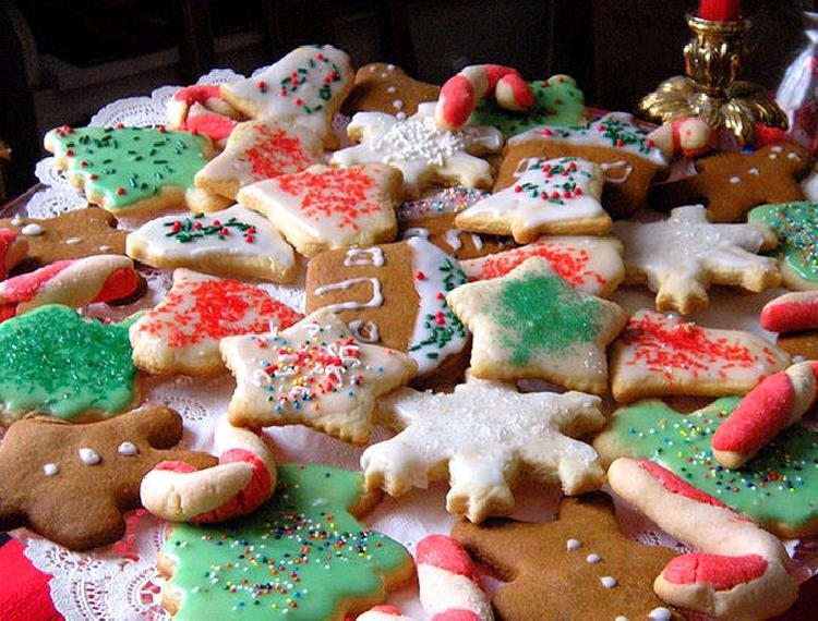 galletitas con formas navide as