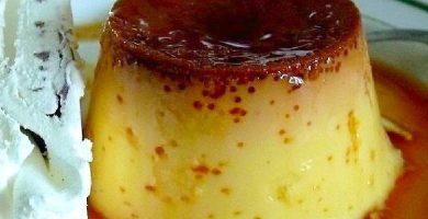 flan de queso receta