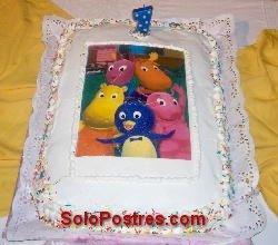 Sugerencia de torta de cumpleaños para un año