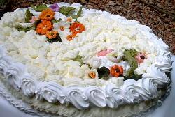 Torta de cumpleaños romántica