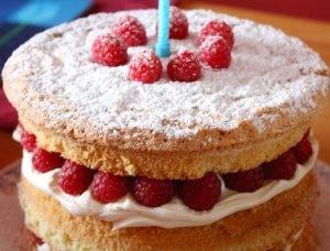 Torta crema de nuez