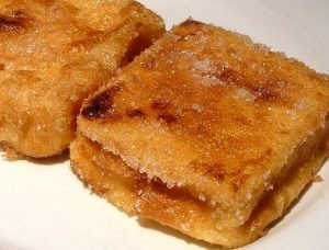 Crema pastelera frita