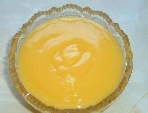 Curd de limón o lemon curd