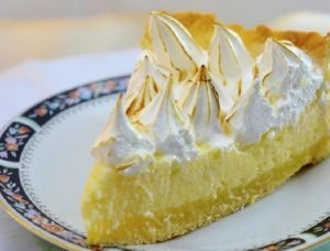 Lemon pie con curd de limón o lemon curd (otra opción)
