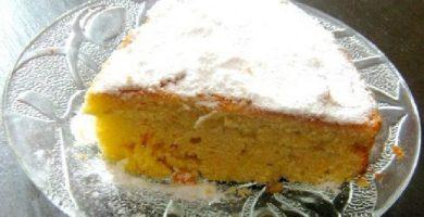 torta de naranja y calabaza light