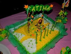 Torta de cumpleaños del Hada Campanita