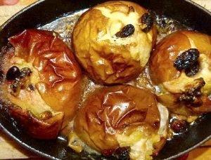 Manzanas al horno y rellenas, rápido y fácil