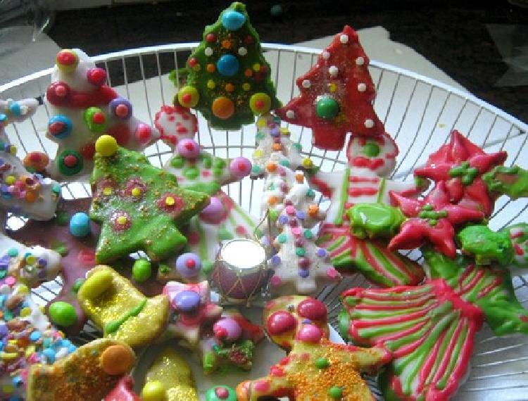 galletitas decoradas con formas navide as