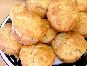 Muffins con nueces