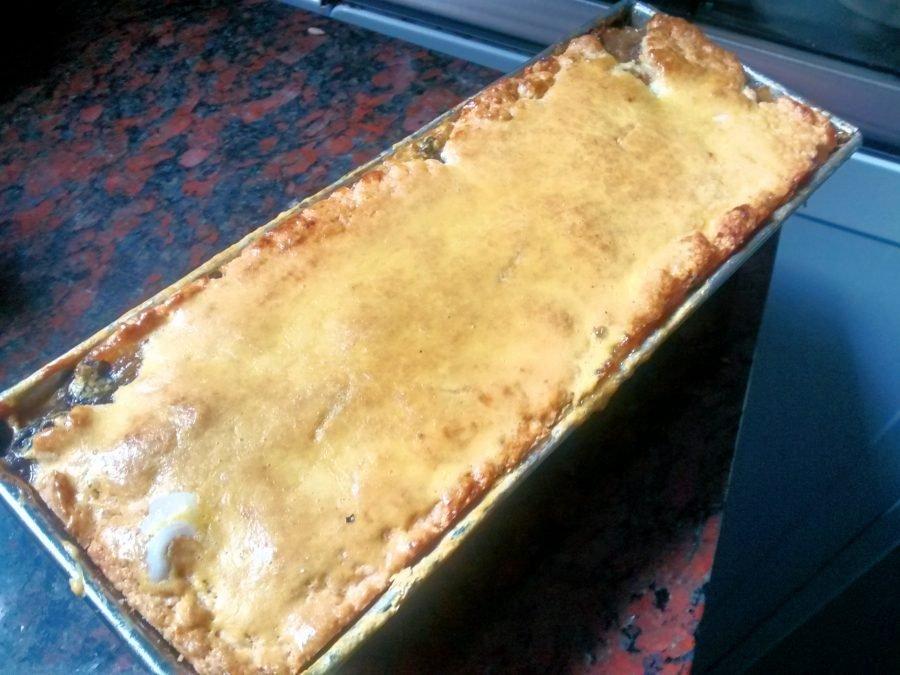 Torta de manzana muy delicada