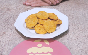 Galletas light de naranja