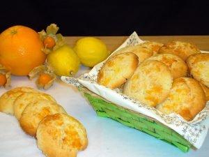 Masitas o pastas de naranja y limón