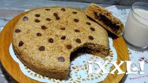 "Mega galleta vegana rellena de <span class=""bsearch_highlight"">brownie</span>"