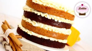 Layercake de chocolate y calabaza