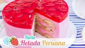 Tarta helada peruana