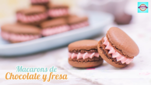 "<span class=""bsearch_highlight"">Macarons</span> de chocolate y fresa"