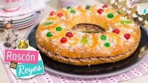 Roscón o Rosca de Reyes fácil