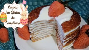 Crepas de zanahoria SIN GLUTEN