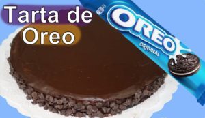 Tarta de Oreo y mousse de chocolate