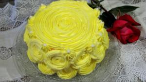 Torta vegana sin horno para el día de la madre