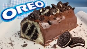 Tronco de galletas Oreo