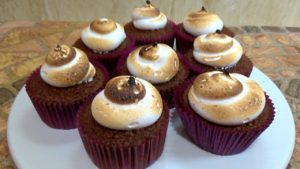 Cupcakes s'more