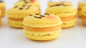 Macarons de Emojis sabor Limón